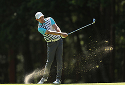 Denmark's Lasse Jensen during day two of the 2017 BMW PGA Championship at Wentworth Golf Club, Surrey. PRESS ASSOCIATION Photo. Picture date: Friday May 26, 2017. See PA story GOLF Wentworth. Photo credit should read: Adam Davy/PA Wire. RESTRICTIONS: Editorial use only. No commercial use.