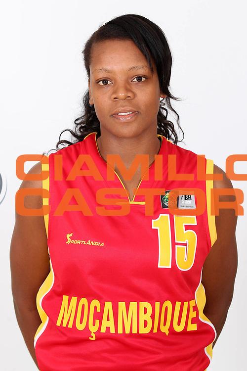 DESCRIZIONE : Ankara Turkey FIBA Olympic Qualifying Tournament for Women 2012<br /> GIOCATORE : Deolinda GIMO<br /> SQUADRA : Mozambique Mozambico<br /> EVENTO :  FIBA Olympic Qualifying Tournament for Women 2012<br /> GARA : <br /> DATA : 24/06/2012<br /> CATEGORIA : head shot<br /> SPORT : Pallacanestro <br /> AUTORE : Agenzia Ciamillo-Castoria/ElioCastoria<br /> Galleria : FIBA Olympic Qualifying Tournament for Women 2012<br /> Fotonotizia : Ankara Turkey FIBA Olympic Qualifying Tournament for Women 2012<br /> Predefinita :