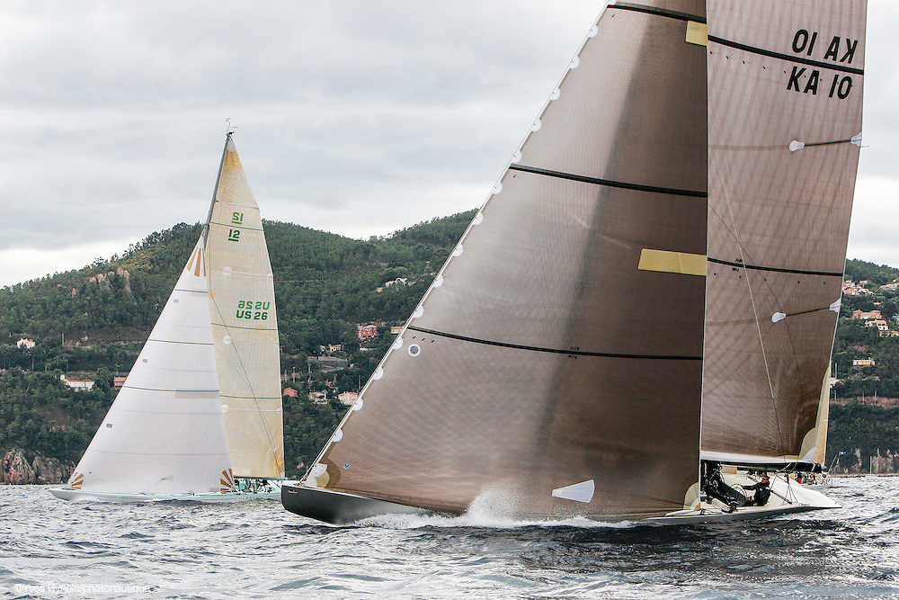 Courageous US26, Challenge Twelve KA10, voile, 12M, Jauge internationale,Régate Royales