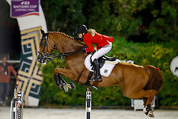 Meyer Janne Friederike, (GER), Goya 27<br /> Furusiyya FEI Nations Cup Jumping Final - Barcelona 2016<br /> © Hippo Foto - Dirk Caremans<br /> 24/09/16