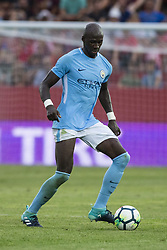 August 15, 2017 - Girona, Spain - 15 Eliaquim Mangala from France of Manchester City during the Costa Brava Trophy match between Girona FC and Manchester City at Estadi de Montilivi on August 15, 2017 in Girona, Spain. (Credit Image: © Xavier Bonilla/NurPhoto via ZUMA Press)