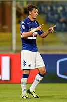 Genova 17/08/2013 - coppa Italia / Sampdoria-Benevento / foto Daniele Buffa/Image Sport<br /> nella foto: esultanza gol Manolo Gabbiadini <br /> Football Calcio 2013/2014 Coppa Italia<br /> Foto Insidefoto