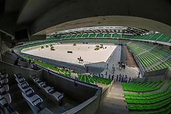 Oerview dressage arena<br /> WEG Test event dressage - Caen 2014<br /> © Hippo Foto - Dirk Caremans