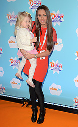 Michelle Heaton and Faith Hanley attend Dora and Friends TV Premiere at Empire Leiceter Sq, London on Sunday 2.11.2014