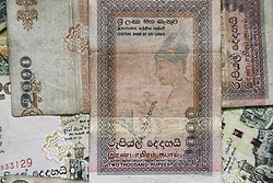 July 28, 2017 - Unspecified, Sri Lanka - Assortment of Sri Lankan rupee banknotes. (Credit Image: © Creative Touch Imaging Ltd/NurPhoto via ZUMA Press)