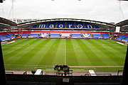 General view of the University of  Bolton Stadium.The EFL Sky Bet League 1 match between Bolton Wanderers and Wycombe Wanderers at the University of  Bolton Stadium, Bolton, England on 15 February 2020.