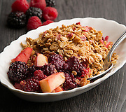 Fruit and Granola breakfast dish