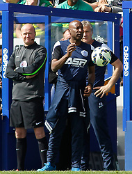 Queens Park Rangers Manager, Chris Ramsey - Photo mandatory by-line: Mitchell Gunn/JMP - Mobile: 07966 386802 - 25/04/2015 - SPORT - Football - London - Loftus Road<br />  - QPR v West Ham United - Barclays Premier League