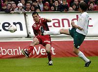 Fotball, Tippeligaen, 03 Juli 2005, Brann - Ham-Kam, Paul Scharner, Brann.  Foto: Kjetil Espetvedt, Digitalsport.