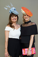 Repro Free :  Deirdre Hurley,  Garria De Brun<br /> Clare Kelly Badger ,  Roscalm CRB Milinery at The Irish Fashion Innovation Awards 2017 at the Radisson Blu HotelPhoto:Andrew Downes, XPOSURE<br /> <br /> NOTE: <br /> The Irish Fashion Innovation Awards presented by Goldenegg Productions is a contest for fashion designers and fashion students, showcasing the highest expression of creativity from the most innovative designers in Ireland. Recognised as a launching pad for Ireland&rsquo;s most talented, the event attracts entries from promising fashion creatives competing for the prestigious Awards. The Irish Fashion innovation Awards continually aspire to showcase the most cutting-edge designers, giving up-and-coming designers an invaluable connection to the public. The brainchild of Patricia McCrossan of Goldenegg Productions, the Awards give visibility, support and a voice to design talent throughout Ireland, offering an unrivalled opportunity for their work to be shown to a jury made up of fashion design experts. &ldquo;The Goldenegg Irish Fashion Innovation Awards are unique to Ireland. They are seen as providing a rite of passage for many of our top designers as they make their way up the rungs of the fashion ladder. We have a fantastic track record to date with some of Ireland&rsquo;s best-known designers making their national debut at the Goldenegg Irish Fashion Innovation Awards,&rdquo; explains Patricia. Previous winners include Carla Johnson, Natalie B. Coleman, Una Burke, Niamh O&rsquo;Neill, Martha Lynn, Blaithin Ennis and Rebecca Marsden.
