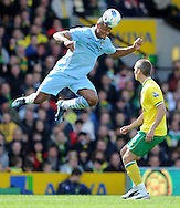 Picture by Andrew Timms/Focus Images Ltd. 07917 236526.14/04/12.Vincent Kompany of Manchester City during the Barclays Premier League match against Norwich City at Carrow Road stadium, Norwich.