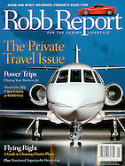 Magazine Cover - Robb Report Falcon 200