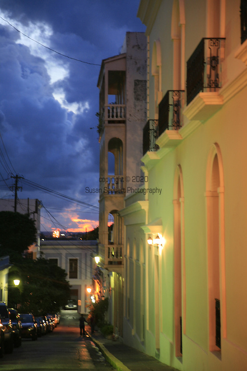 Old San Juan (Spanish: Viejo San Juan) is the oldest settlement within the territory of the United States and it is the historic colonial section of San Juan, Puerto Rico. It is one of the two barrios, in addition to Santurce, that made up San Juan prior to 1951, in which the former independent municipality of Río Piedras was annexed.