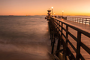Seal Beach Pier at Twilight