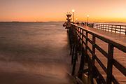 Seal Beach Pier at Twilight