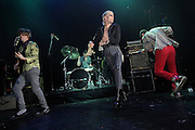 NYC-based rock band Semi Precious Weapons performing at the Gramercy Theater in New York City on March 27, 2009.