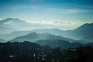 Philippines, Luzon Island. Landscapes and people from Benguet province famous not only for delicious vegetables but also for mummies.