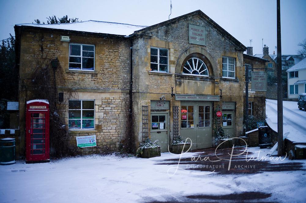 Blockley Village in the snow