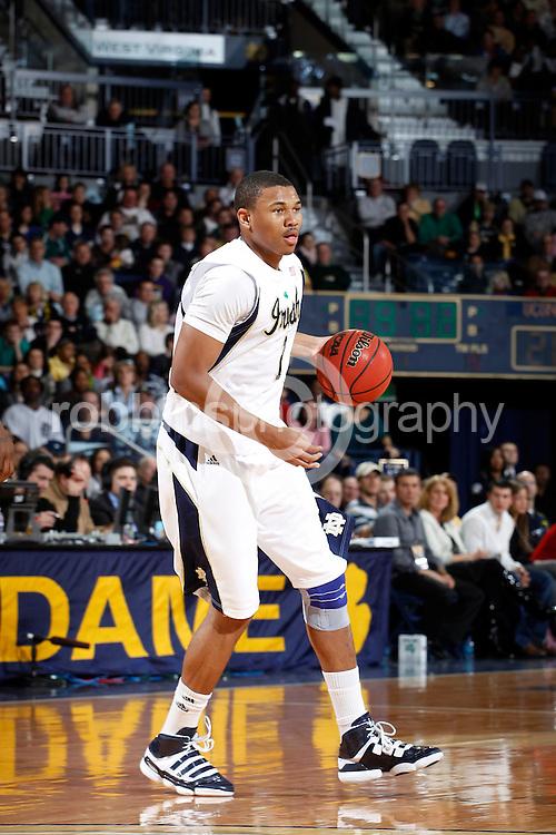 Tyrone Nash.Notre Dame.(Photo by Joe Robbins)