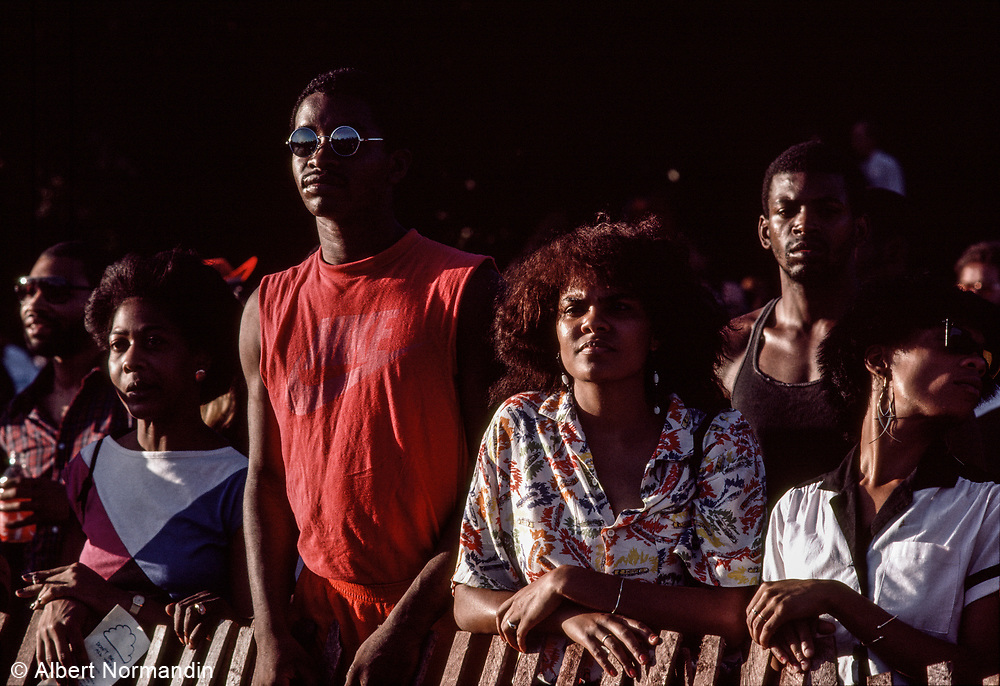 Diana Ross Concert, Central Park, New York City, New York, USA, June 1983