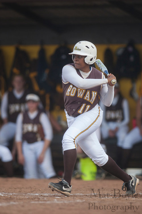 Rowan University Softball Senior Lauren Davis (11); Rowan University Softball vs. Centenary College in Glassboro, NJ on Tuesday March 20, 2012. (photo / Mat Boyle)