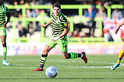Forest Green Rovers Jack Aitchison(29), on loan from Celtic during the EFL Sky Bet League 2 match between Forest Green Rovers and Mansfield Town at the New Lawn, Forest Green, United Kingdom on 19 October 2019.