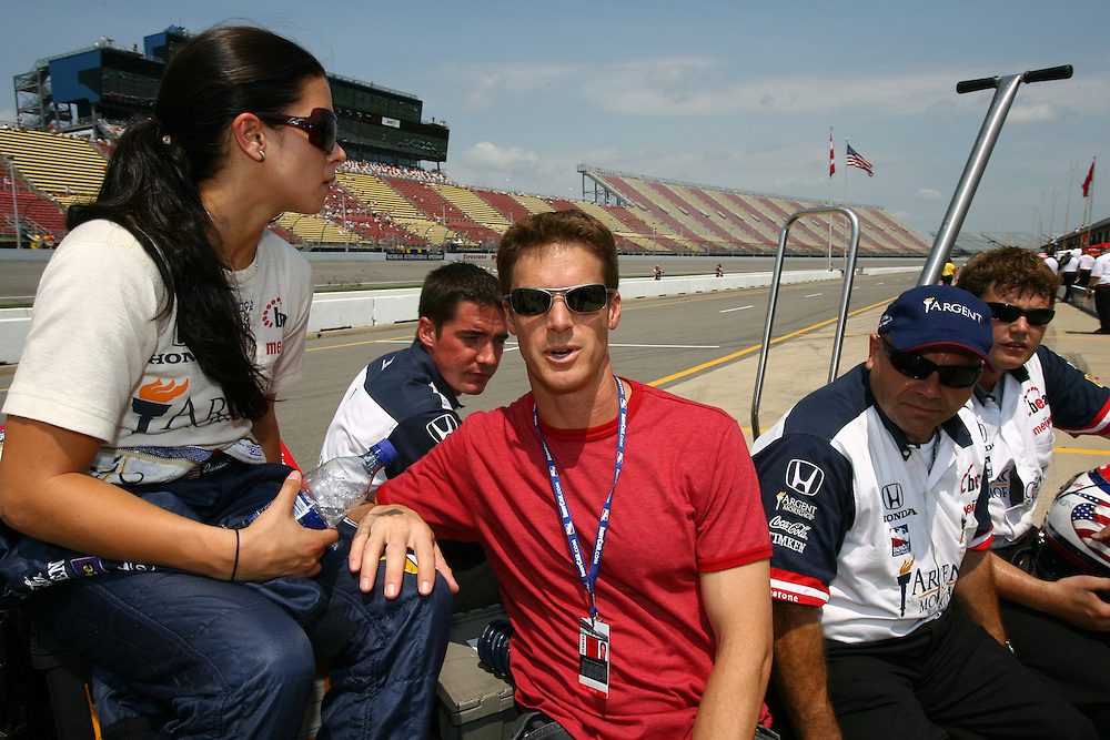 Danica Patrick, Michigan IRL race Firestone Indy 400, Michigan International Speedway, Brookly, MI USA,7/30/2006