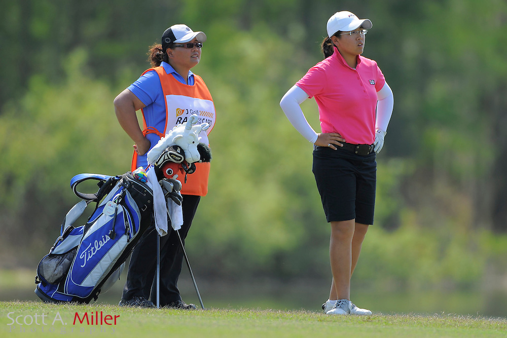 Tzu-Chi Lin during the second round of the LPGA Futures Tour's Daytona Beach Invitational at LPGA International's Championship Course on April 2, 2011 in Daytona Beach, Florida... ©2011 Scott A. Miller
