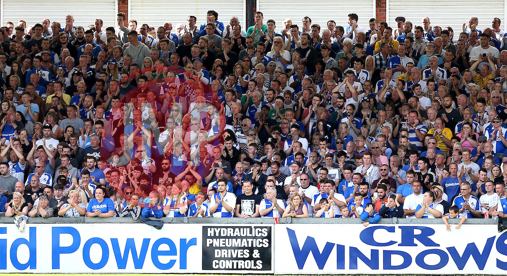 Bristol Rovers fans - Mandatory by-line: Robbie Stephenson/JMP - 14/08/2016 - FOOTBALL - Memorial Stadium - Bristol, England - Bristol Rovers v Oxford United - Sky Bet League One