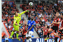 Artur Boruc of Bournemouth punches the ball clear - Mandatory by-line: Jason Brown/JMP - 24/09/2016 - FOOTBALL - Vitality Stadium - Bournemouth, England - AFC Bournemouth v Everton - Premier League