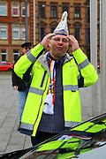 Mannheim. 10.02.18 | <br /> Närrische Bootsfahrt mit dem Mannheimer Stadtprinzenpaar Miriam I. und Marcus I. <br /> Danch kleiner Umzug mit Gefolge zum Mannheimer Marktplatz über die Planken zum Wasserturm mit Fahrt im Riesenrad.<br /> - KKM Präsident Thomas Dörner<br /> Bild: Markus Prosswitz 10FEB18 / masterpress (Bild ist honorarpflichtig - No Model Release!) <br /> BILD- ID 00088 |