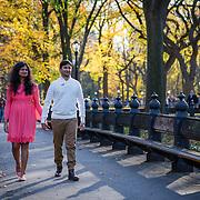 Smita and Purnendra - Central Park, NY