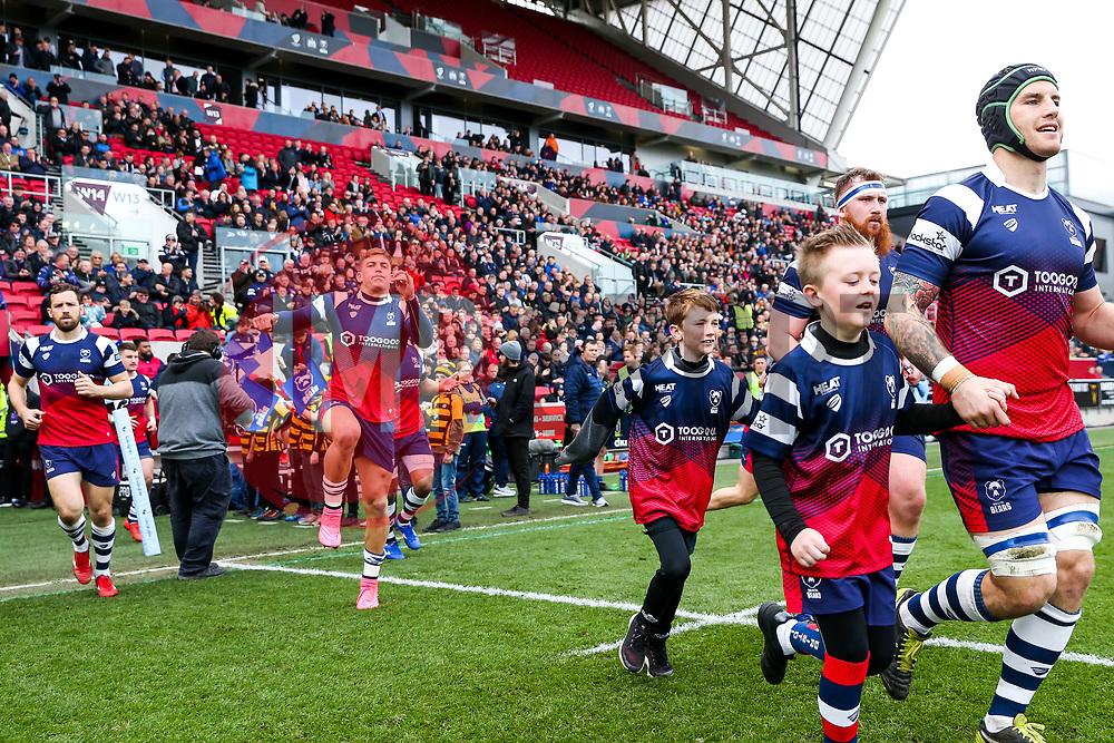 Mascots - Rogan/JMP - 23/03/2019 - RUGBY UNION - Ashton Gate Stadium - Bristol, England - Bristol Bears v Worcester Warriors - Gallagher Premiership Rugby.