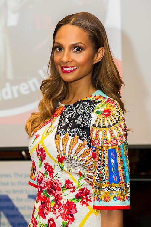"""Alesha Dixon launches Children United and the """"We Are The Children United"""" single. Alesha is the most well-known name on the single, the first voice you hear on the song is that of 12-year-old Patience who lives in a children's home in Uganda after losing most of her family to AIDS. The pair are joined by thousands more children from countries as far flung as Kenya, Australia, India, USA, Uganda, The Netherlands and Norway who all feature on the Children United single. More countries and more children are joining the """"world's biggest pop group"""" every day and posting their recordings on YouTube. The song was written by Barney Cox and produced by Nigel Wright.<br /> Around 10,000 children's voices are on the song including 6,500 children from the Voice In A Million choir<br /> who performed the song live at Wembley with Alesha in March.<br /> <br /> Children United is an online platform which will bring children together from across the globe to discuss the issues that matter to them, and provide them with the opportunity to have their voices heard. The three founding partner organisations are First News, Achievement for All, and Skoolbo. They have been working with Microsoft to support the web development and integration of Skype technology that will connect children across the world in face-to-face conversations. Save the Children are the charity's key NGO partner.<br /> <br /> The Children United website, which encourages children around the world to """"join-up"""" and be heard, opens for<br /> registration on Wednesday (15 April) and goes fully live and interactive in September. The site will be moderated<br /> by schools around the world to ensure a secure environment for children to talk to each other safely."""