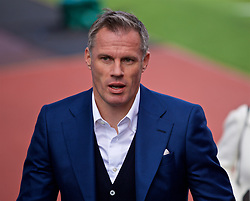 BURNLEY, ENGLAND - Saturday, August 31, 2019: Former Liverpool player and Sky Sports pundit Jamie Carragher before the FA Premier League match between Burnley FC and Liverpool FC at Turf Moor. (Pic by David Rawcliffe/Propaganda)