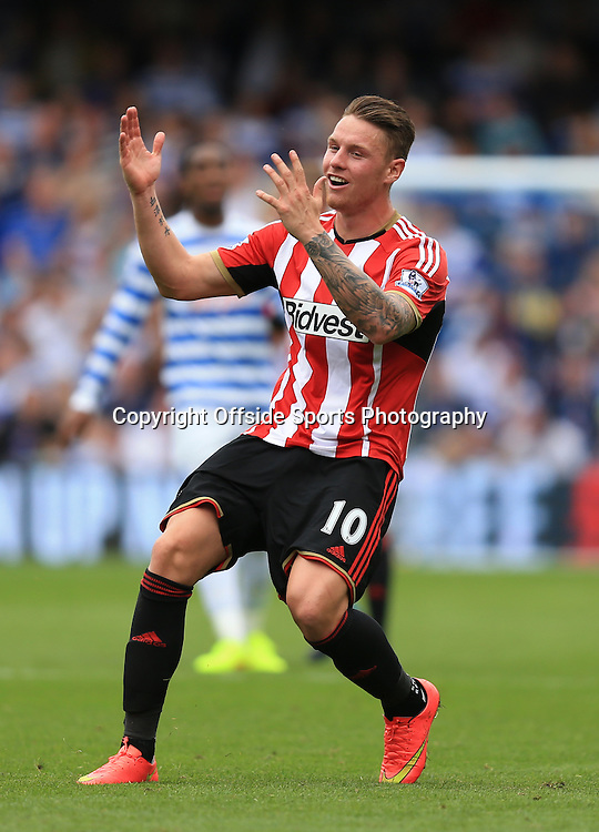 30 August 2014 - Barclays Premier League - Queens Park Rangers v Sunderland - Connor Wickham of Sunderland - Photo: Marc Atkins / Offside.