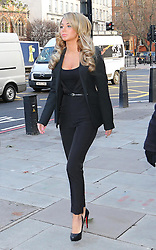 Tulisa Contostavlos arriving at Westminster Magistrates Court in London,  Thursday, 19th December 2013. Picture by Stephen Lock / i-Images