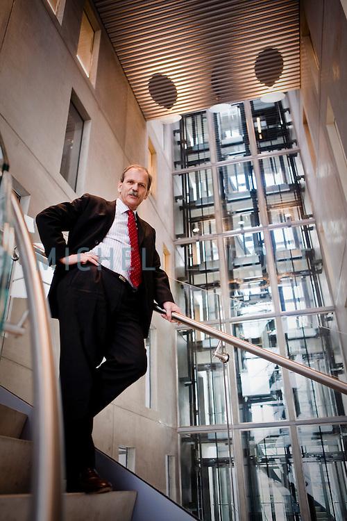 Cees Jan Asselbergs, directeur van Deltalinqs in Rotterdam
