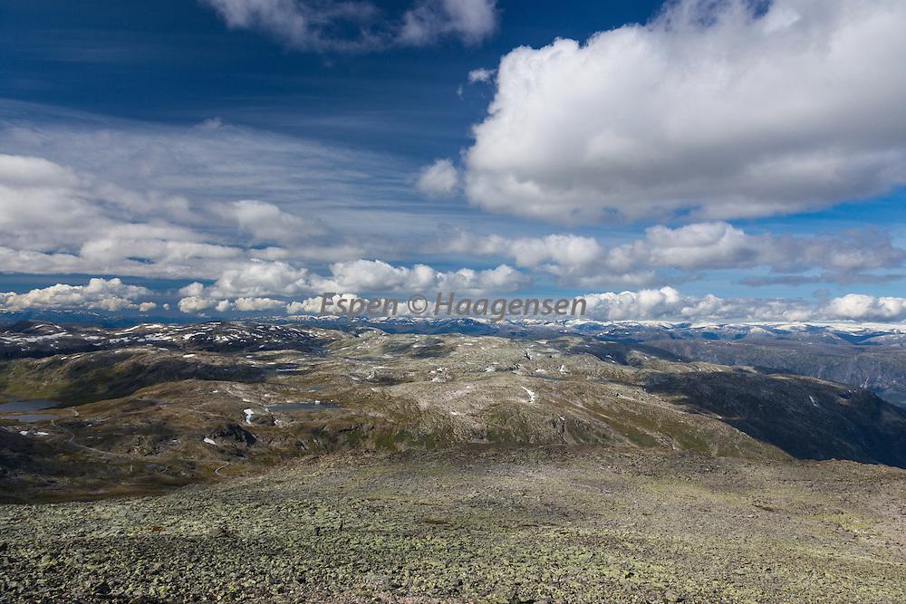 From Soleibotntind towards Jostedalsbreen
