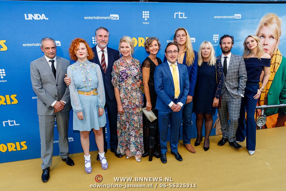 NLD/Amsterdam/20180917 - Premiere Doris, castfoto