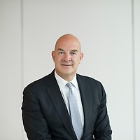 Andrew Cohen, Chief Executive Officer of J.P. Morgan Private Bank in Asia poses for a portrait at the company headquarters in Hong Kong on 14 August 2015. Photo by Victor Fraile / studioEAST