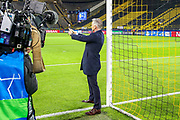 Sports pundit Gary Lineker takes a selfie ahead of the Champions League round of 16, leg 2 of 2 match between Borussia Dortmund and Tottenham Hotspur at Signal Iduna Park, Dortmund, Germany on 5 March 2019.