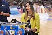 DESCRIZIONE : Campionato 2014/15 Serie A Beko Dinamo Banco di Sardegna Sassari - Grissin Bon Reggio Emilia Finale Playoff Gara3<br /> GIOCATORE : Alice Pedrazzi<br /> CATEGORIA : Rai Sport TV<br /> SQUADRA : Dinamo Banco di Sardegna Sassari<br /> EVENTO : LegaBasket Serie A Beko 2014/2015<br /> GARA : Dinamo Banco di Sardegna Sassari - Grissin Bon Reggio Emilia Finale Playoff Gara3<br /> DATA : 18/06/2015<br /> SPORT : Pallacanestro <br /> AUTORE : Agenzia Ciamillo-Castoria/C.Atzori