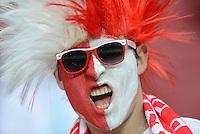 FUSSBALL  EUROPAMEISTERSCHAFT 2012   VORRUNDE Polen - Russland             12.06.2012 Russischer Fan im Stadion  Pressefoto ULMER/Claus Cremer xxNOxMODELxRELEASExx