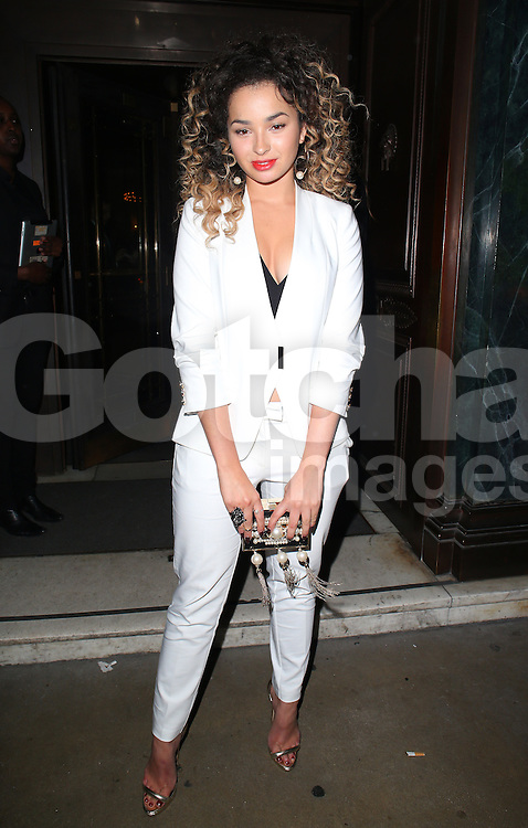 Ella Eyre atttends the British Fashion Awards After Party at Cafe Royal in London, UK. 01/12/2014<br />