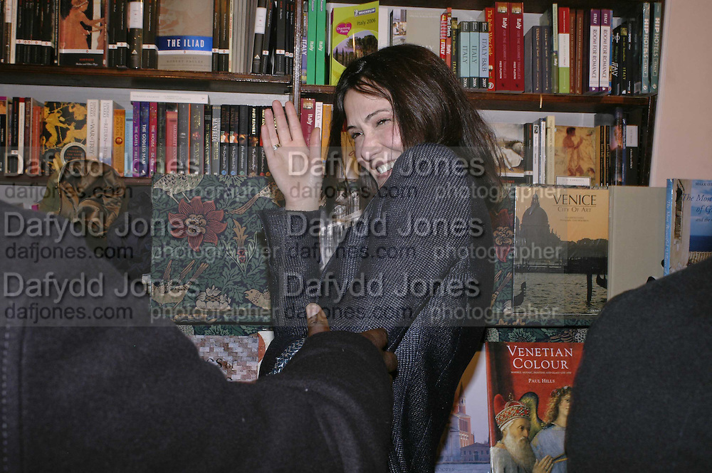 Annabel Neilson, Book launch of Pretty Things by Liz Goldwyn at Daunt <br />