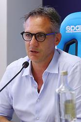 ANDREA GAZZOLI <br /> CONFERENZA DISSEQUESTRO STADIO PAOLO MAZZA DOPO LE VERIFICHE