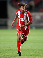 Photo: Maarten Straetemans.<br /> Ajax v Athletico Madrid. LG Amsterdam Tournament. 02/08/2007.<br /> Fabiana Eller (Atletico Madrid)