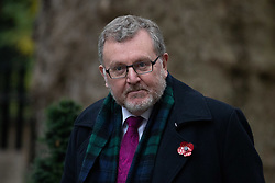 © Licensed to London News Pictures. 06/11/2018. London, UK. Secretary of State for Scotland David Mundell arriving in Downing Street to attend a Cabinet meeting this morning. Photo credit : Tom Nicholson/LNP