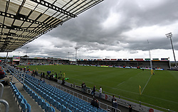 A general view of Sandy Park - Mandatory by-line: Gary Day/JMP - 20/05/2017 - RUGBY - Sandy Park Stadium - Exeter, England - Exeter Chiefs v Saracens - Aviva Premiership Semi-Final